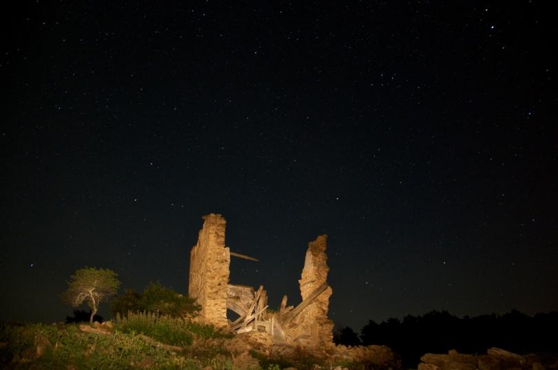 Fotografia realitzada amb la técnica de fotografia nocturna.